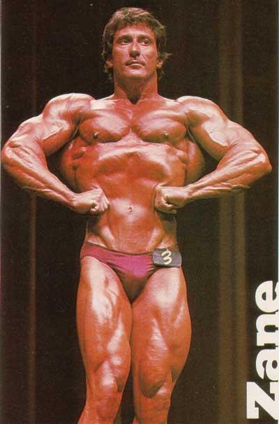"""Фрэнк Зейн (поза """"Широчайшие мышцы спины спереди"""")"""